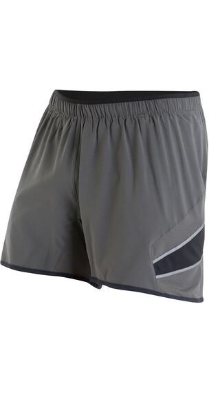 """PEARL iZUMi Pursuit 5"""" Hardloop Shorts Heren grijs"""